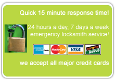 Locksmith Snohomish credit cards accepted